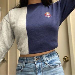 Vintage Colorblock Sweater